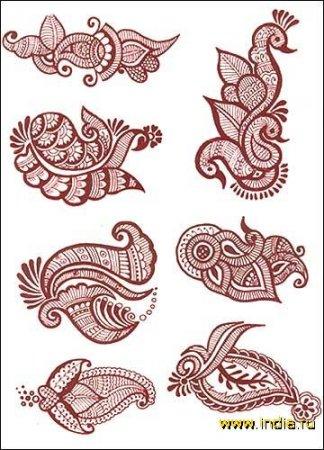 Рисунки для росписи ложки